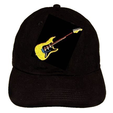 Electric Guitar Hat